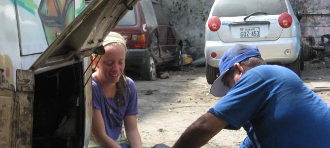 Con la Gorda en pana en Guayaquil