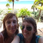 De mochilera en México con mi Mamá. DF