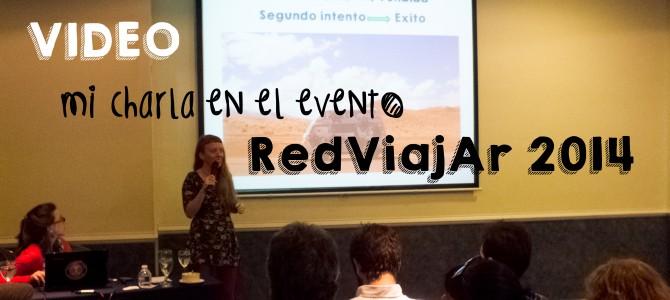 Encuentro de RedViajAR 2014: Mi charla