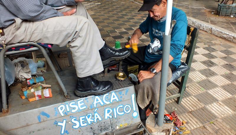 Un día de ilegal en Paraguay