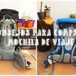 Consejos para comprar una mochila de viaje